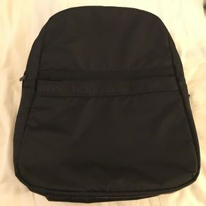 LeSportsac Dakota Travel Nylon Backpack in Black